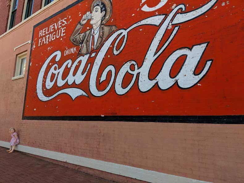Guthrie Oklahoma-Coca-Cola-sign