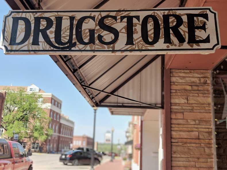 Guthrie Oklahoma drug store museum