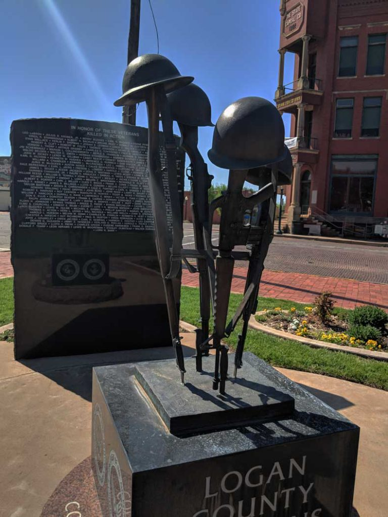 Guthrie Oklahoma memorial honor park