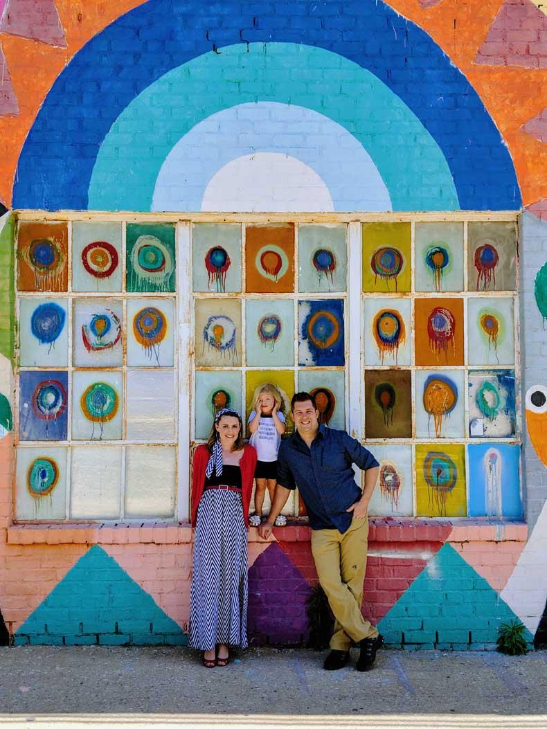 Best street art in Oklahoma City - Parenthood & Passports