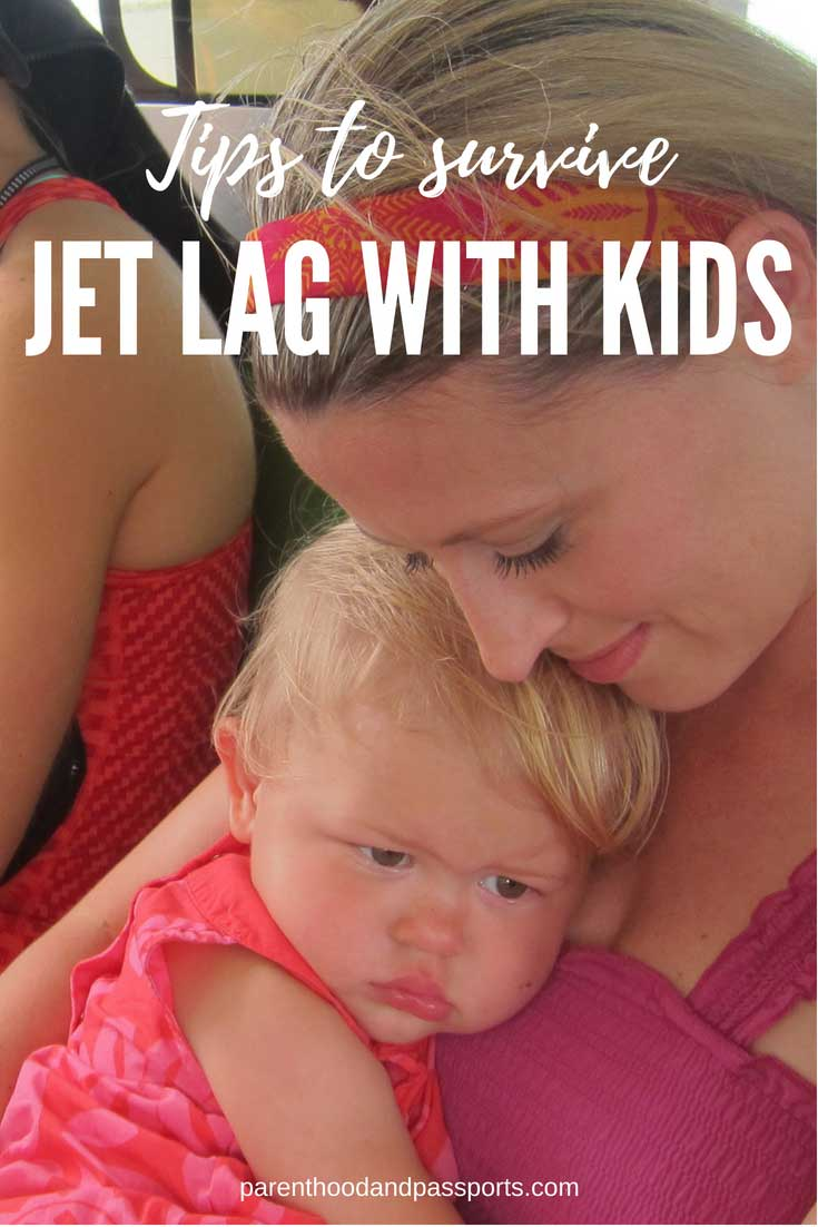 Overcoming jet lag with kids