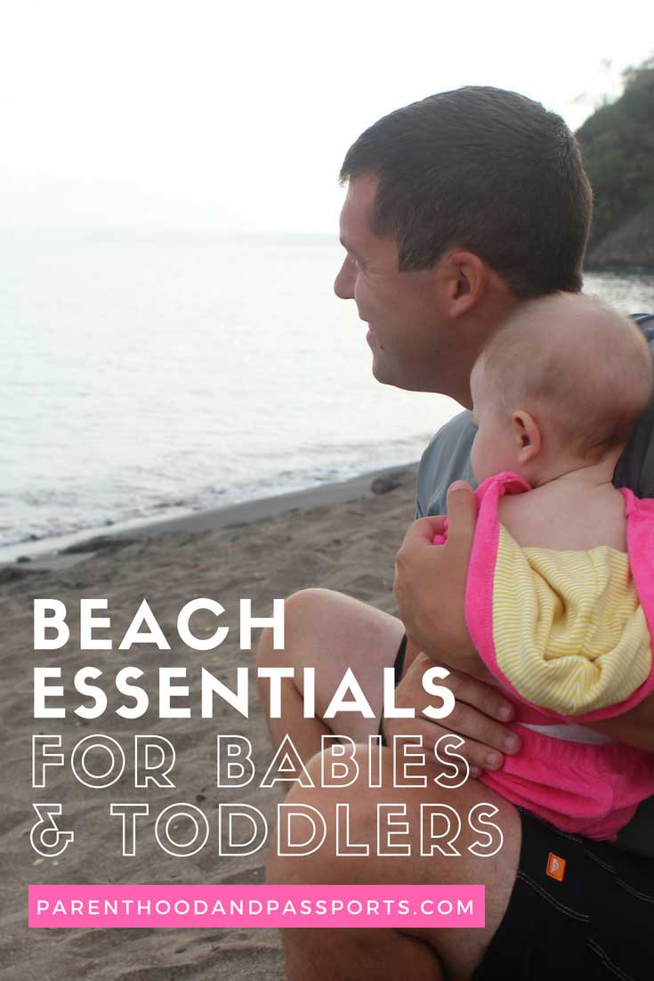 Packing list for beach vacation with baby or toddler