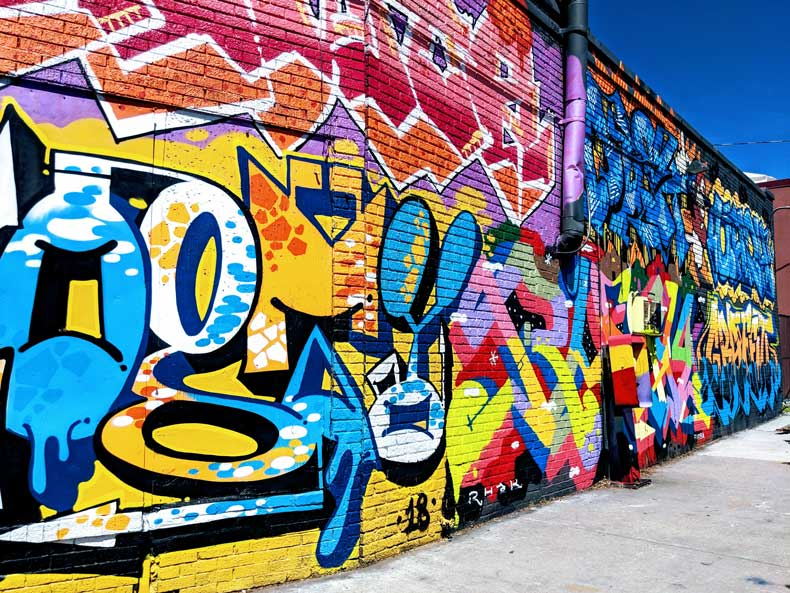 Best street art in Oklahoma City - Parenthood & Passports