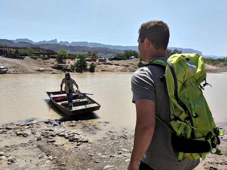 rio grande river crossing boquillas mexico
