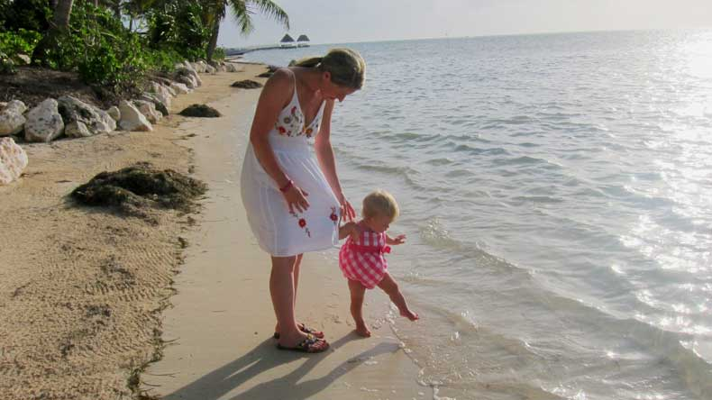 Beaches in Ambergris Caye