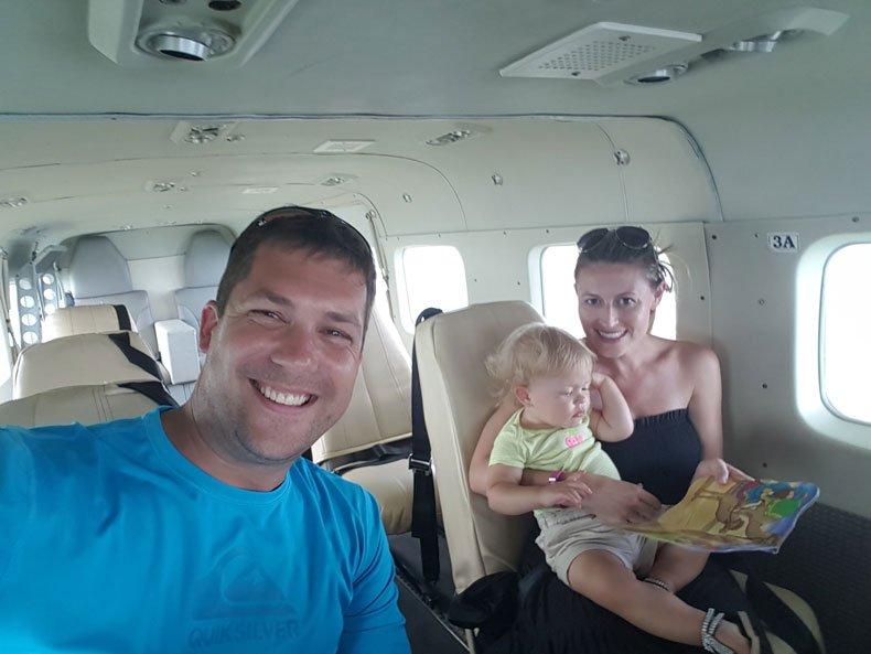 Belize City to Ambergris Caye flight