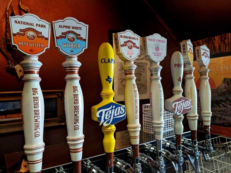 Big Bend Brewing Co - Alpine Texas