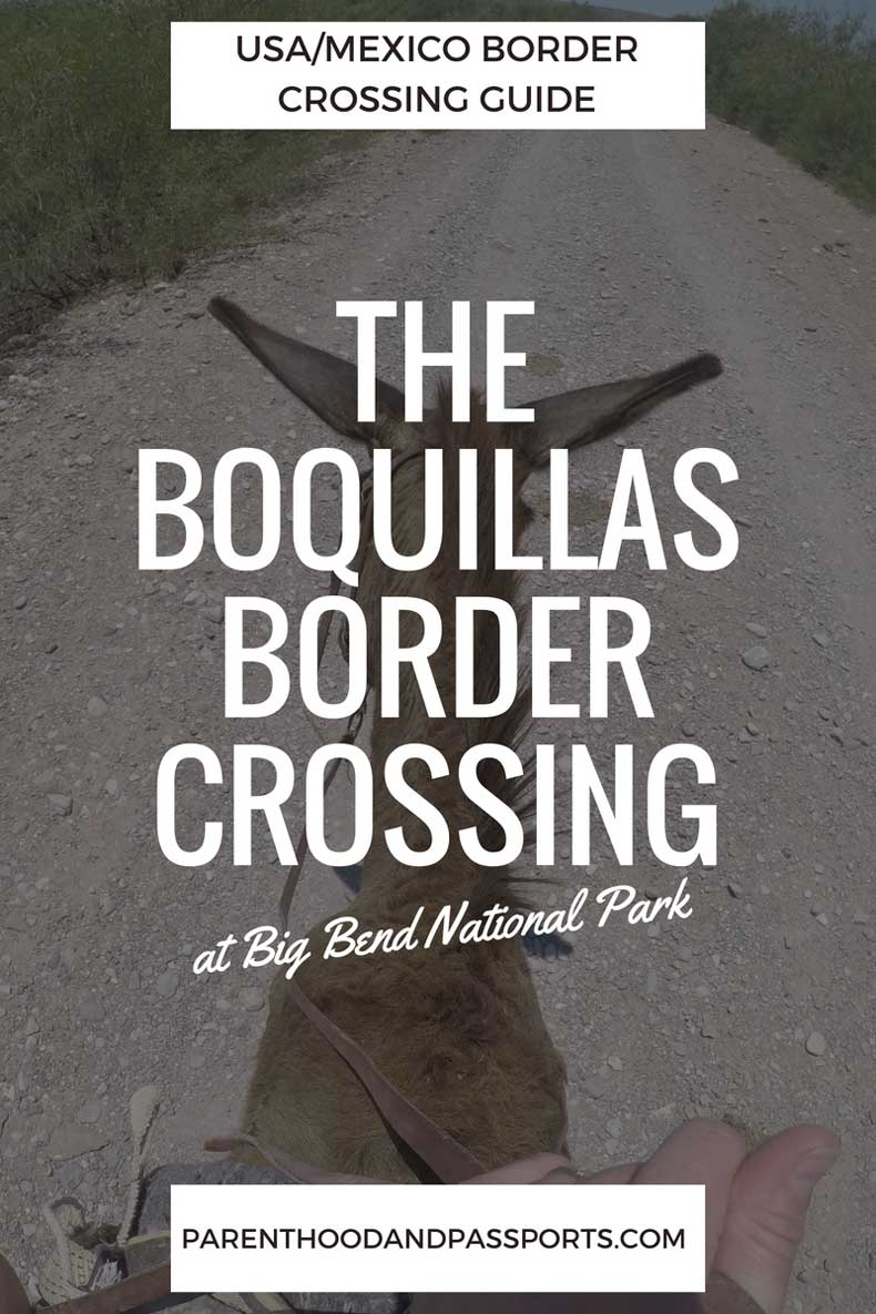 Boquillas border crossing guide