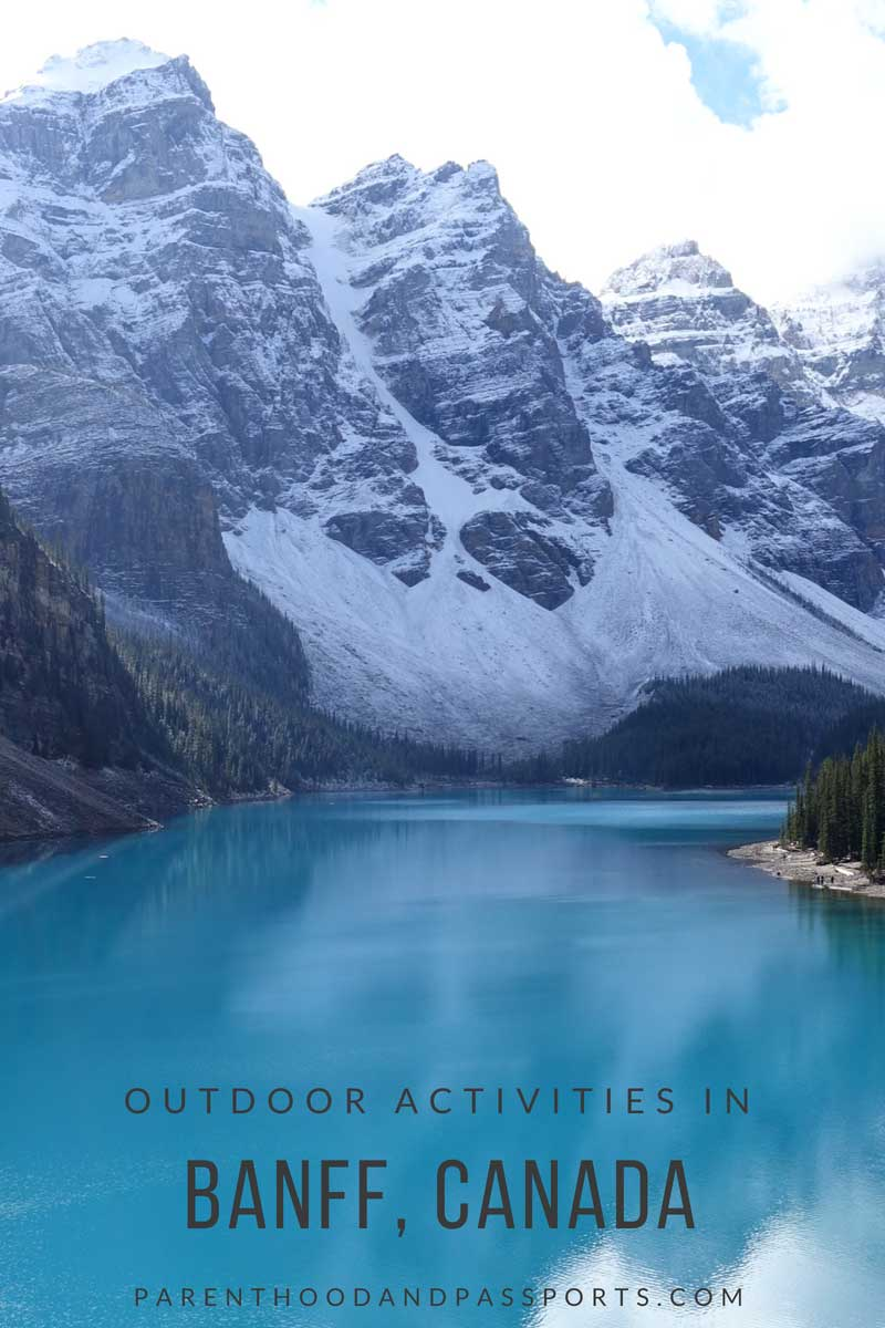 Outdoor activities in Banff Canada
