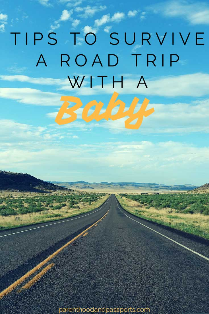 Road trip tips when traveling with a baby