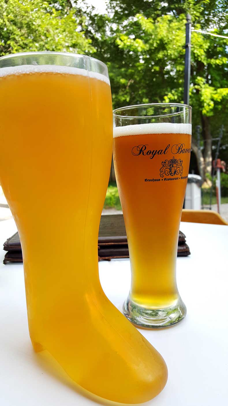 Royal Bavaria German beer garden brewery in OKC