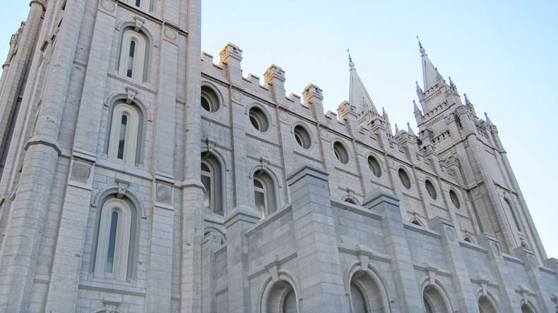 Salt Lake City Mormon Temple-US cities that deserve more tourists