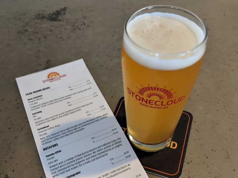 Stonecloud Brewing- Craft beer in Oklahoma City