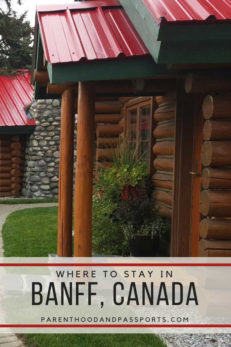 Where to stay in Banff National Park Canada