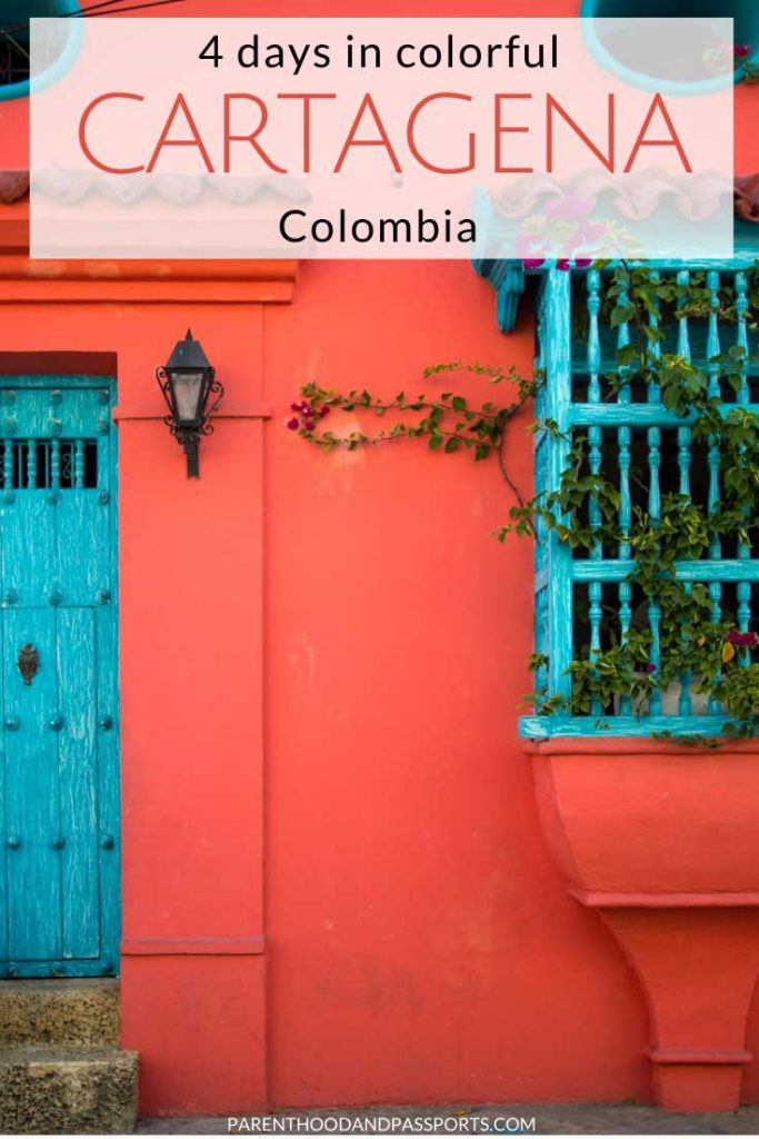 Cartagena, Colombia is one of the best cities in South America for families. From the vibrant culture to the colorful walls within the walled city, family travel in Cartagena is a wonderful experience. Here are the top things to do in Cartagena Colombia with kids - or without - plus the perfect 4 day Cartagena itinerary to follow. #colombia #cartagena #southamerica