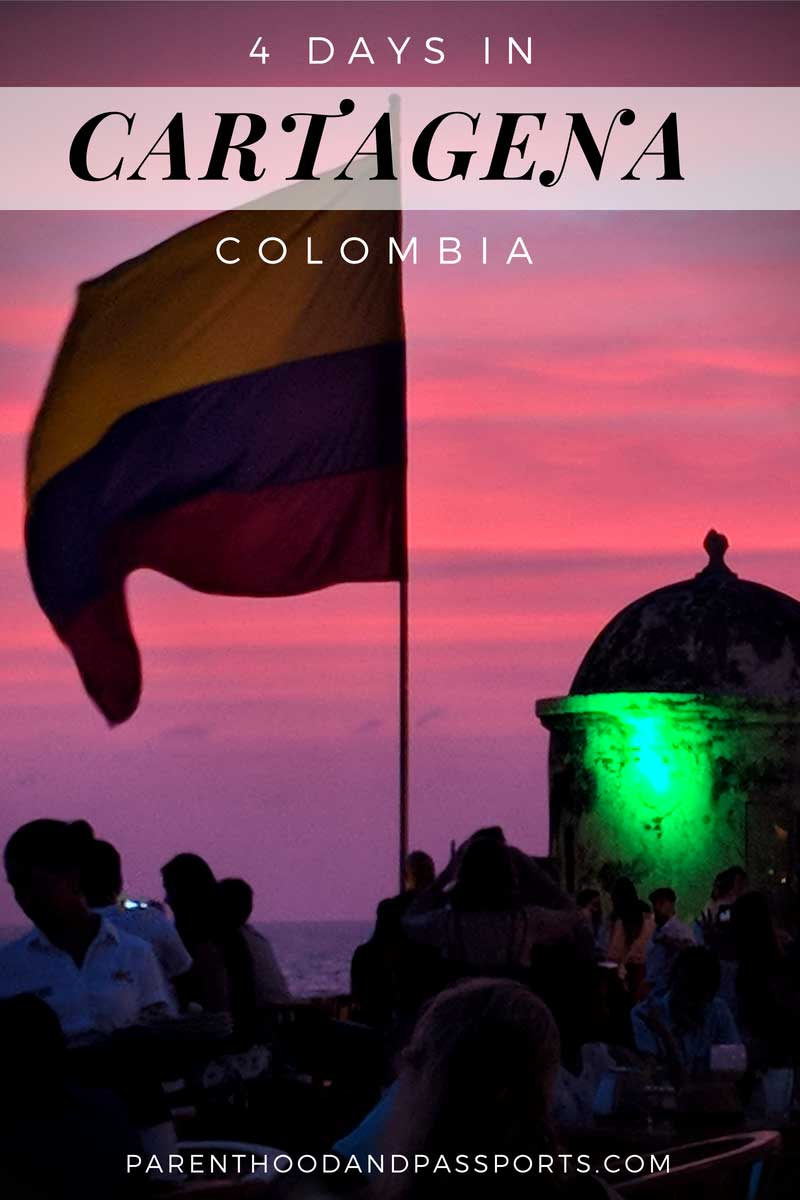 4 days in Cartagena Colombia itinerary