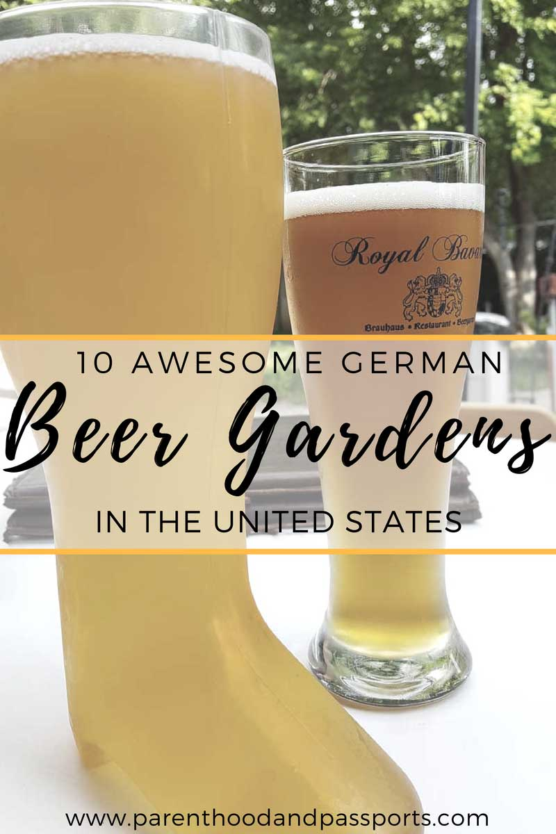 Best beer gardens in America - a look at the top 10 biergartens you must visit in the United States