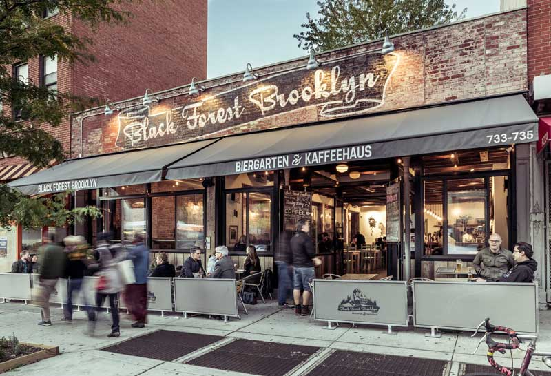 Black Forest Brooklyn beer garden