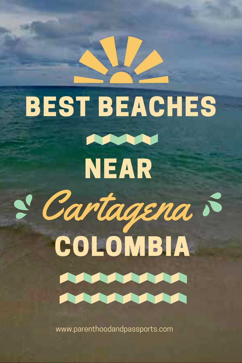 Cartagena Colombia - The best beaches in the Rosario Islands. A guide to the best beach to visit on a day trip from Cartagena. Plus a review of Colombia's most famous beach, Playa Blanca.