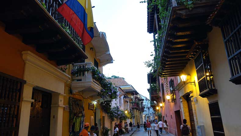 Cartagena Colombia safe