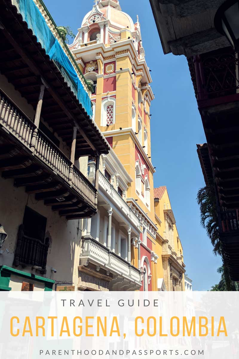 Cartagena travel guide: 10 tips for first-time visitors to the colorful South American city. Travel guide Cartagena, Colombia. Travel tips and advice for visiting Cartagena Colombia in South America. This travel guide for Cartagena answers all your questions about safety, transportation, where to stay, what to eat, and the best beaches to visit. #cartagena #colombia #southamerica