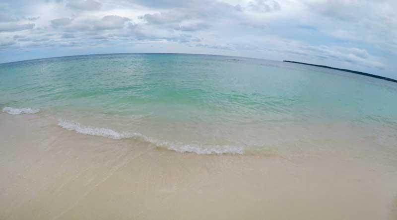 best beaches in Rosario Islands Colombia