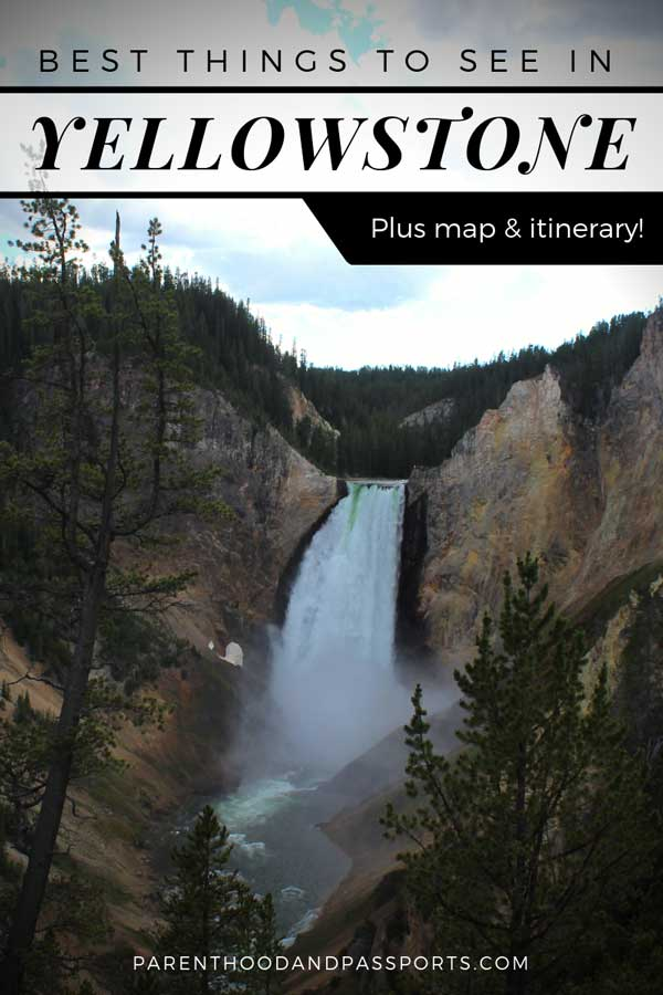 Best things to see in Yellowstone - Yellowstone National Park is one of the most beautiful national parks in the United States. From geysers, to hot springs, to waterfalls, we map out a full itinerary of the best attractions in Yellowstone.