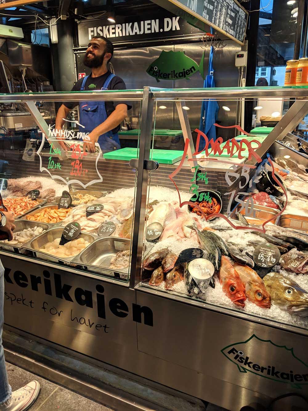 Torvehallerne fresh market