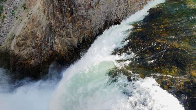 Lower falls things to do in Yellowstone National Park