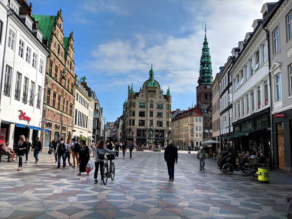 Stroget Copenhagen things to do with kids