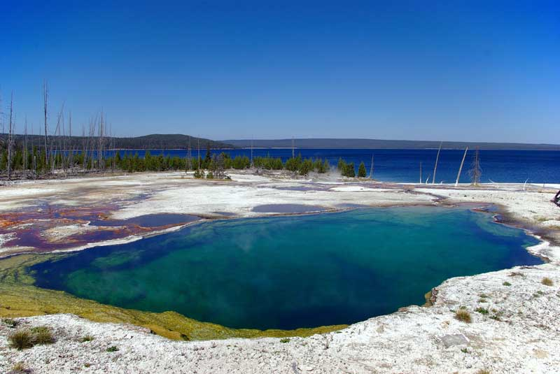 abyss pool yellowstone national park