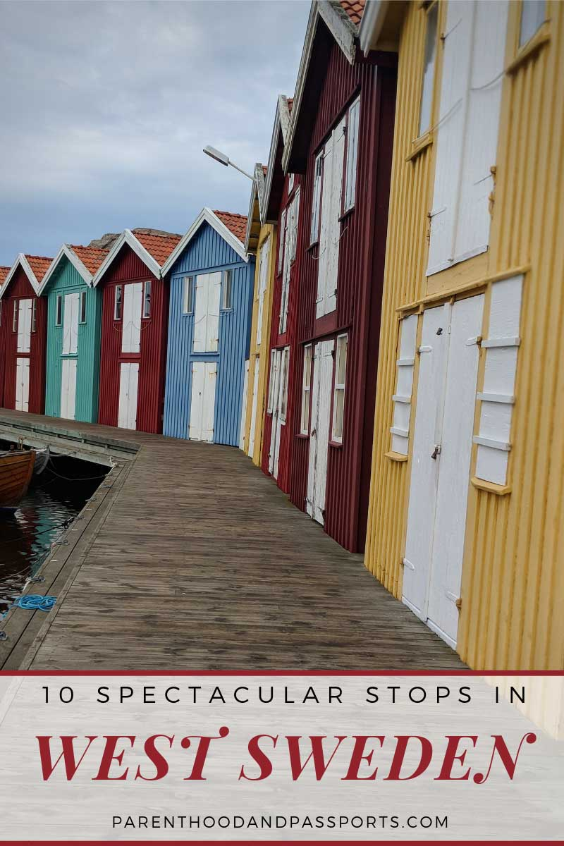 10 Spectacular stops in West Sweden. Everything you must do when driving the west Sweden coast