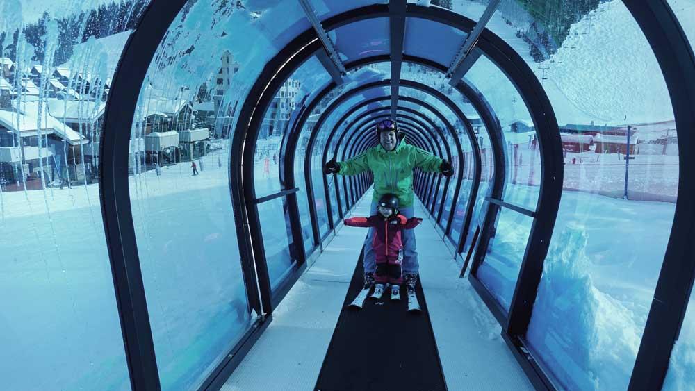 Big Sky family-friendly ski mountain in US