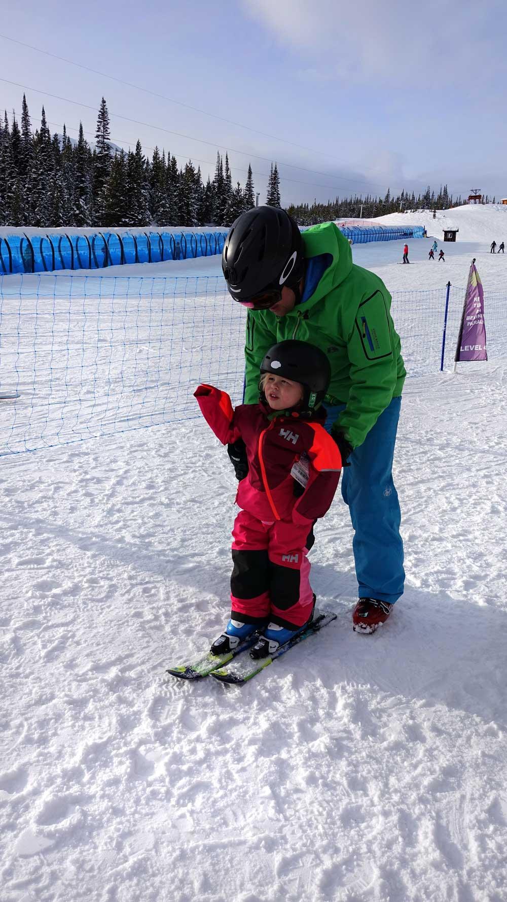 Big Sky with kids -ski school and kids ski free