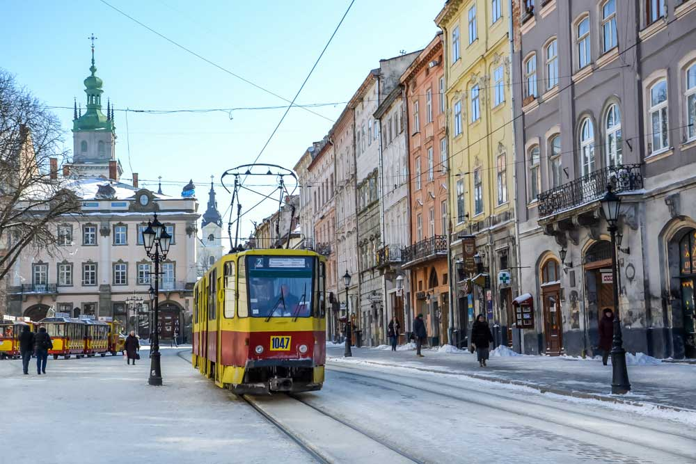 Lviv Ukraine magical winter places