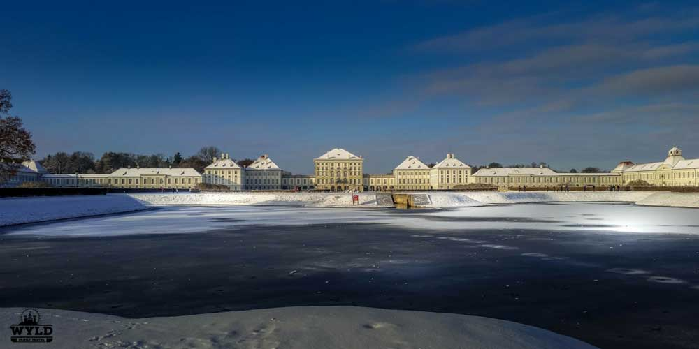 Nymphenburg Munich winter