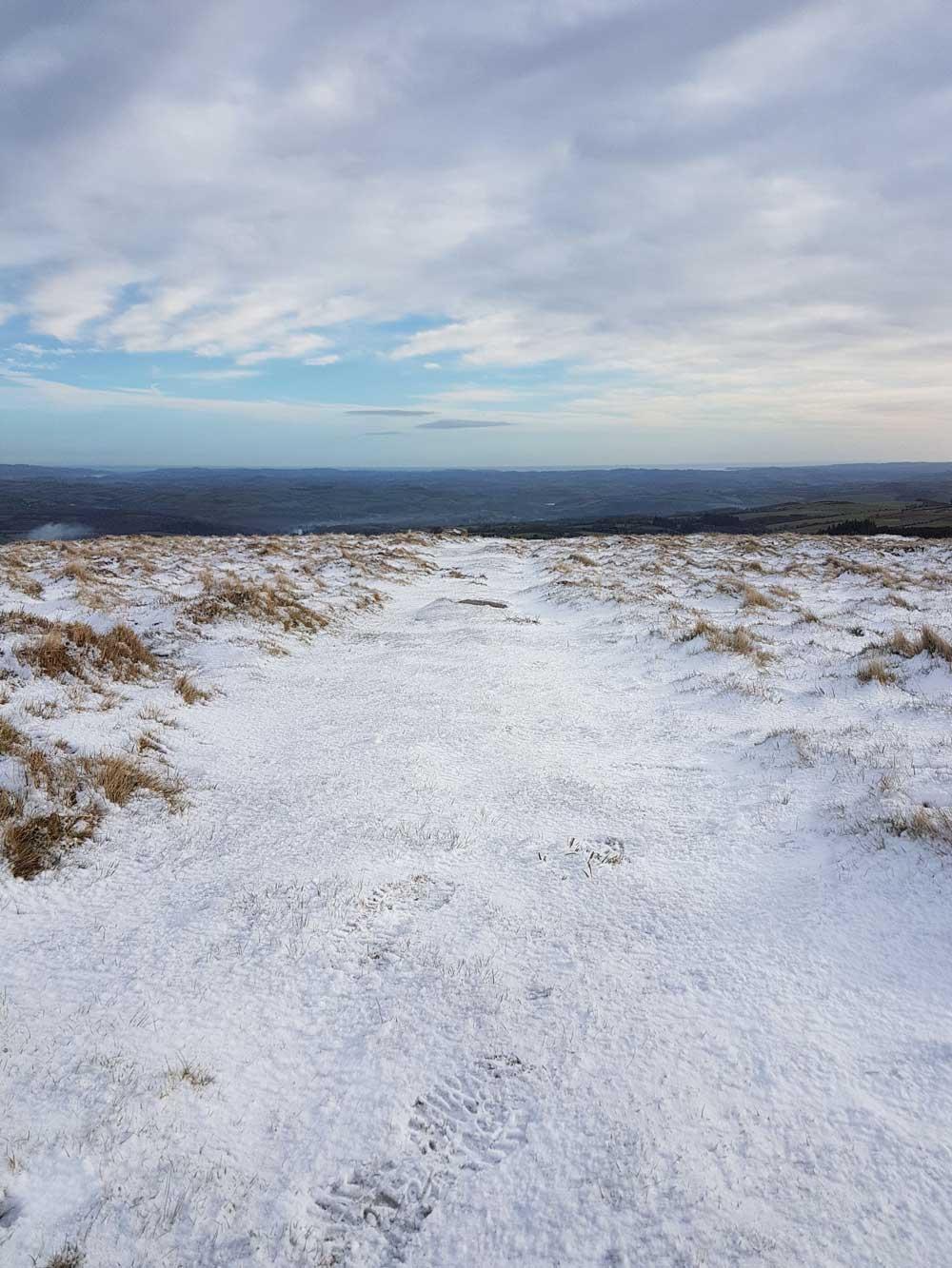 Snow Covered Dartmoor winter
