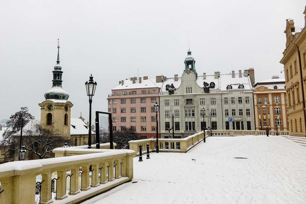 Snowy Praha Vrsovice