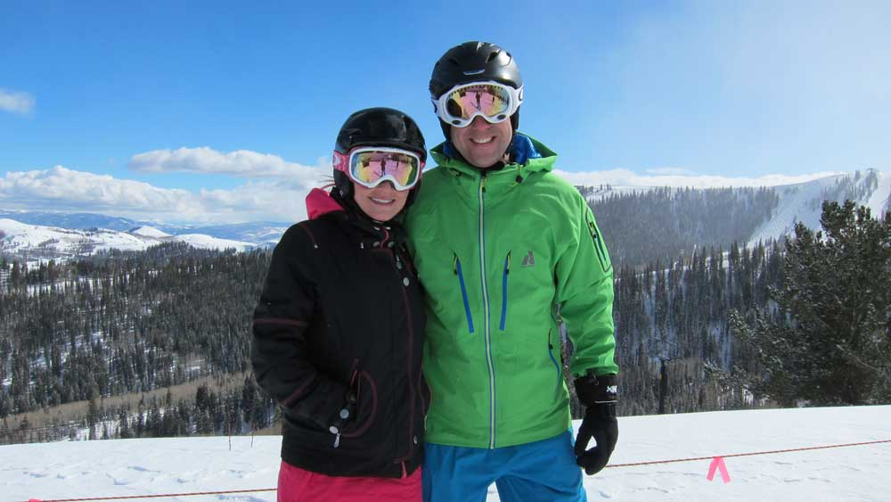 Skiing slang - bluebird day