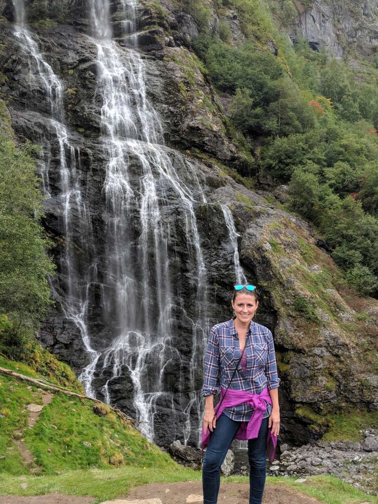 Brekkefossen waterfall hike Flam things to do