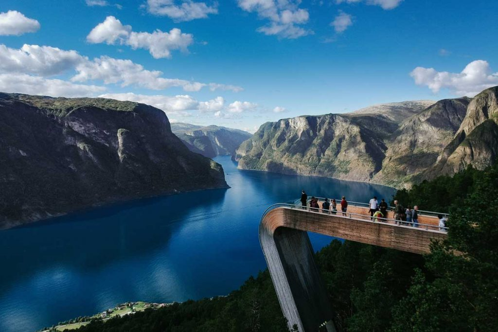 Things to do in Flam - fjord viewing platform