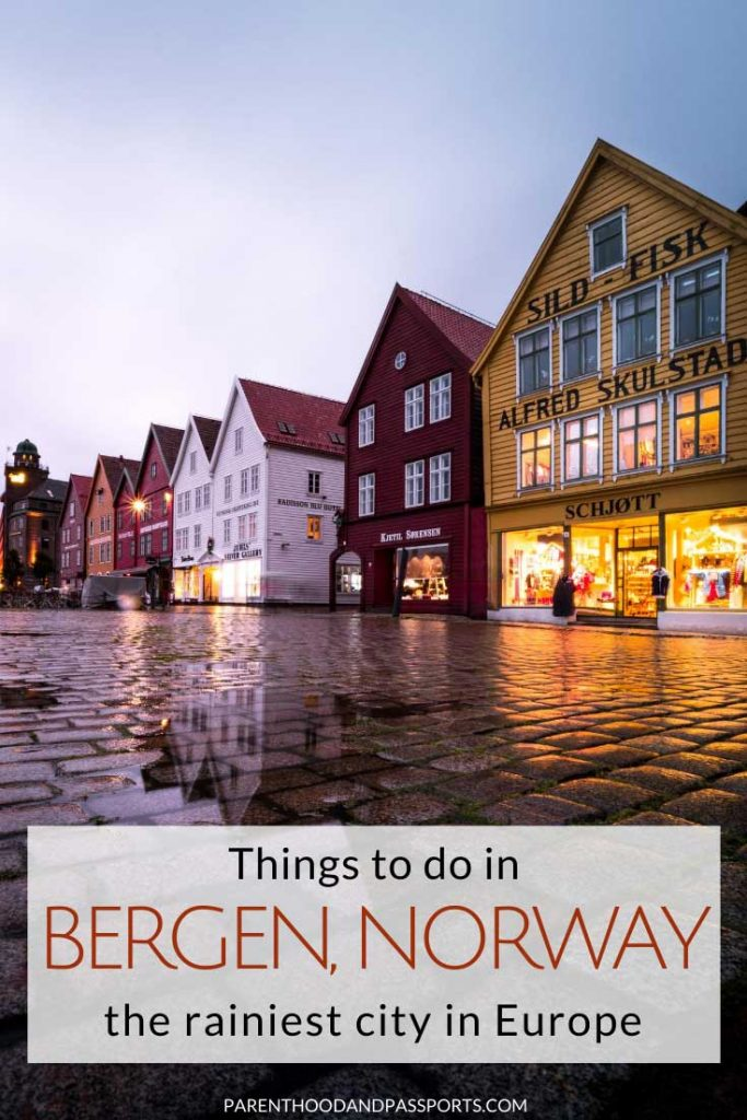 Bergen is a magical city regardless of the season or time of year in which you visit. It is the rainiest city in Europe. But this Bergen itinerary will help you plan the perfect trip to Bergen even in the rain. Here are the top things to do in Bergen, Norway.  #norway #europe #scandinavia