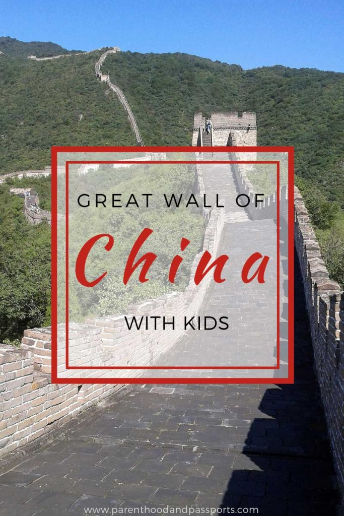 Tips for hiking the Great Wall of China. Everything you need to know about visiting the Great Wall of China with (or without) kids. #china