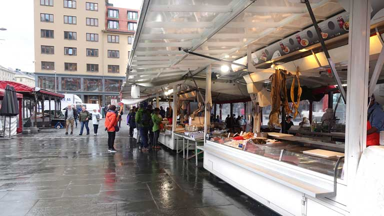 Things to do in Bergen fish market