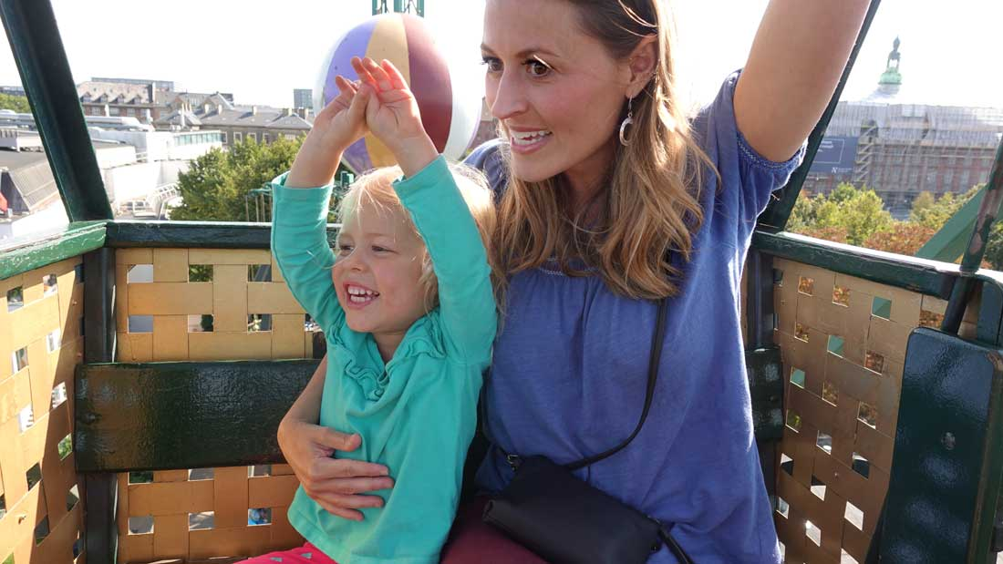 Tivoli Gardens rides for toddlers