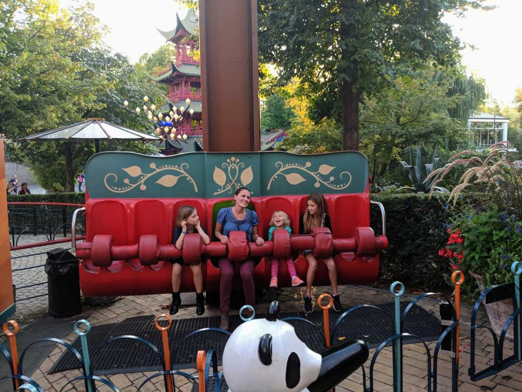 Tivoli Gardens rides for toddlers - The Panda