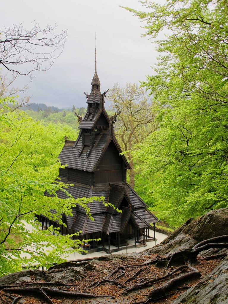 Bergen stave church Fatoft
