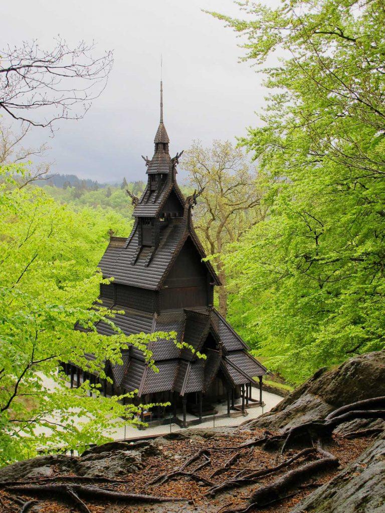 Bergen stave church Fatoft