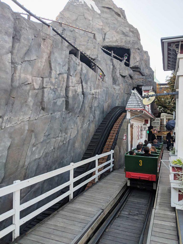 Tivoli Gardens rides - the rollercoaster