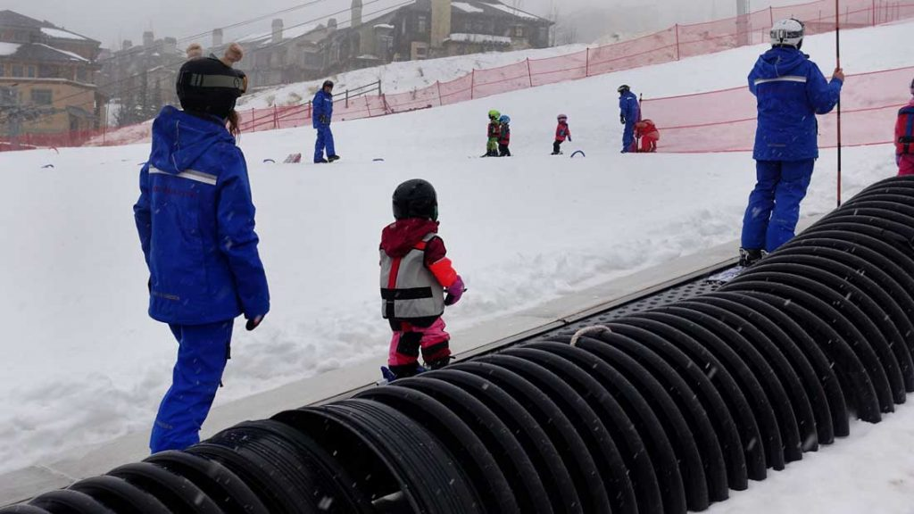 toddler ski lessons